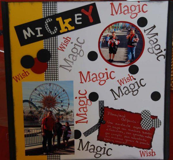 Diseño Disney Mickey
