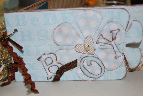 Diseno bebe nino con chipboard